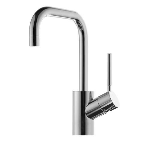 Jado Geometry single lever basin mixer with pop-up waste set