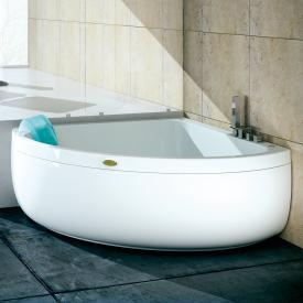 Jacuzzi AQUASOUL CORNER 140 corner whirlpool with panel with Rainbow