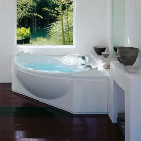 Jacuzzi CELTIA corner whirlpool with panelling without integrated bath spout