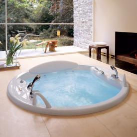 Jacuzzi Gemini round whirlpool Ø 180 x 57 cm, with disinfectant system