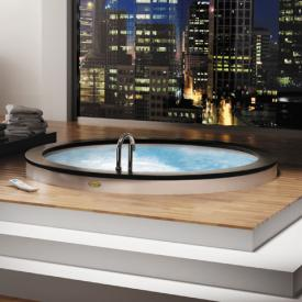 Jacuzzi Nova top Aquasystem round whirlpool Ø 180 x 66 cm, with top Teak