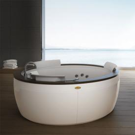 Jacuzzi Nova Top round whirlpool Ø 180 x 66 cm, with panel Teak