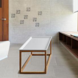 Jan Kurtz Mira side table, rectangular