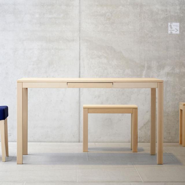Jan Kurtz Haya dining table with drawer, rectangular