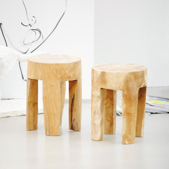 Jan Kurtz Java stool round