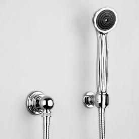 Jörger Aphrodite shower hose set chrome