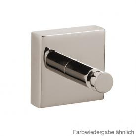Jörger Charleston Square towel hook platinum
