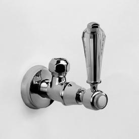 """Jörger Delphi Deco angle valve 1/2"""" x 1/2"""" chrome"""
