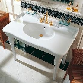 Jörger Delphi washbasin white, with 3 tap holes
