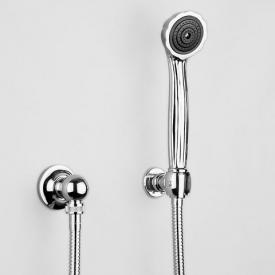 Jörger Muschel shower hose set chrome