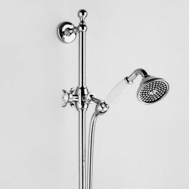 Jörger Series 1909 shower assembly complete with hand shower chrome