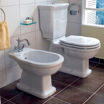 Jörger Delphi floorstanding close-coupled washdown toilet, vertical outlet vertical outlet