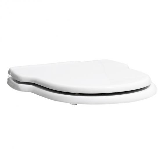 Jörger Leonardo toilet seat with hinges chrome hinges