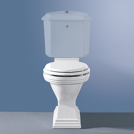 Jörger Scala II close-coupled, washdown toilet with horizontal waste