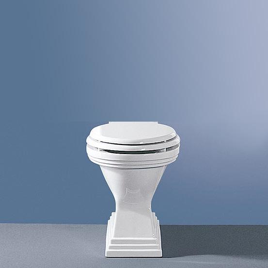 Jörger Scala II washdown toilet with horizontal waste