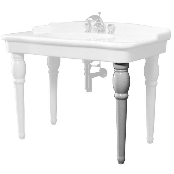 Jörger Delphi ceramic leg for washbasin