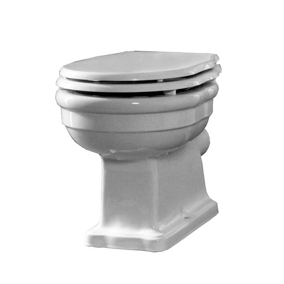 Jörger Delphi floorstanding washdown toilet, vertical outlet vertical outlet