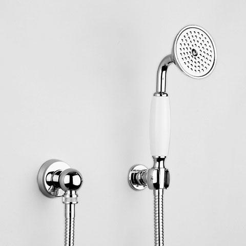 Jörger Delphi shower hose set chrome