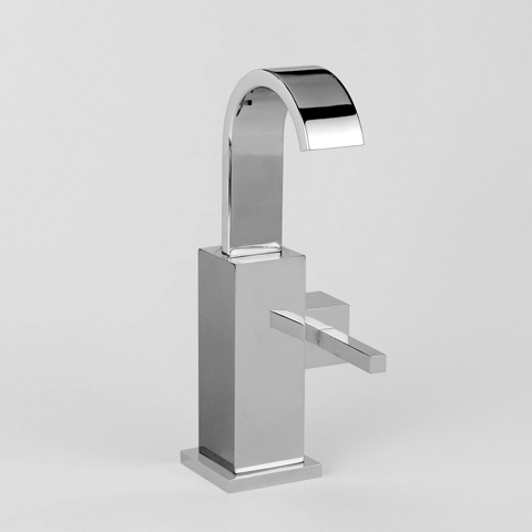 Jörger Empire Royale single lever basin mixer with round plug chrome
