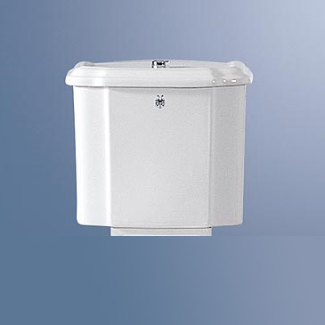 Jörger Symphonie II high-level cistern for washdown toilet