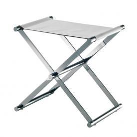 JOOP! CHROMELINE bathroom stool chrome/white