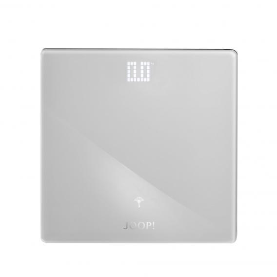 JOOP! LIFESTYLE bathroom scales chrome/white