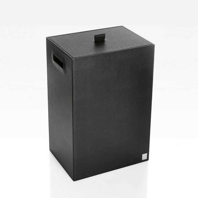 JOOP! BATHLINE laundry bin W: 400 H: 600 D: 300 mm black