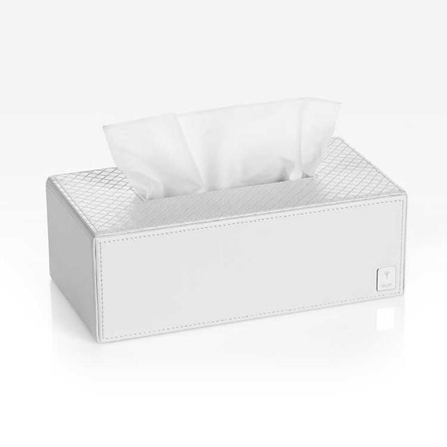 JOOP! BATHLINE tissue box white
