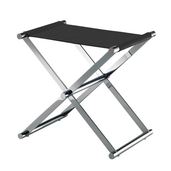 JOOP! CHROMELINE bathroom stool chrome/black