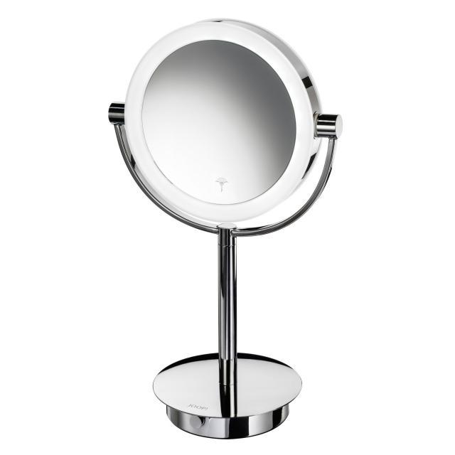 JOOP! CHROMELINE LED beauty mirror, free-standing