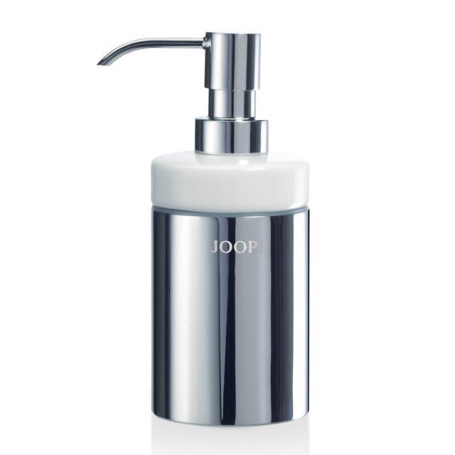 JOOP! CHROMELINE soap dispenser chrome/white