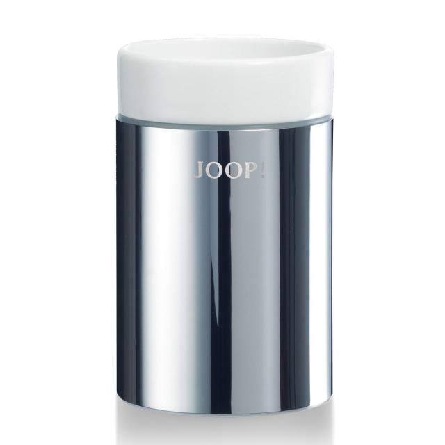 JOOP! CHROMELINE tumbler chrome/white