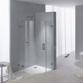 Kaldewei Arrondo quadrant shower tray white, with easy-clean finish