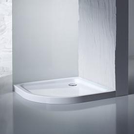 Kaldewei Arrondo quadrant shower tray Antislip, white, with easy-clean finish