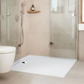Kaldewei Cayonoplan Multispace square shower tray matt white, with Secure Plus