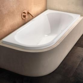 Kaldewei Centro Duo 1 compact bath white, with easy-clean finish