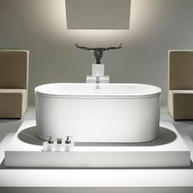 Kaldewei Centro Duo Oval bath with panel white easy-clean finish