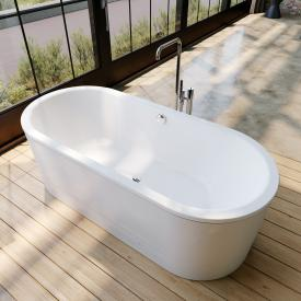 Kaldewei Classic Duo Oval freestanding oval bath white, panel white