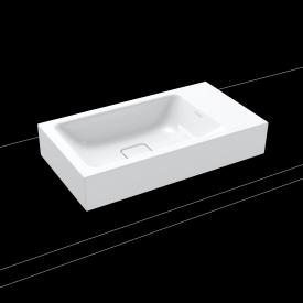 Kaldewei Cono countertop hand washbasin white, without tap hole