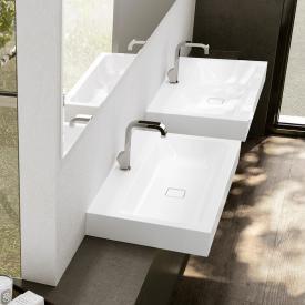 Kaldewei Cono countertop washbasin white, with 1 tap hole