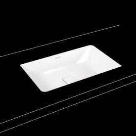 Kaldewei Cono undermount washbasin white, with easy-clean finish