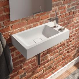 Kaldewei Cono wall-mounted hand washbasin white, with 1 tap hole