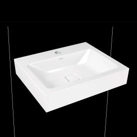 Kaldewei Cono wall-mounted washbasin with 1 tap hole