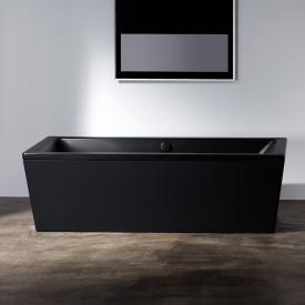 Kaldewei Conoduo freestanding rectangular bath black