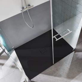 Kaldewei Conoflat square/rectangular shower tray black, with easy-clean finish