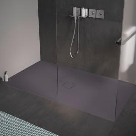 Kaldewei Conoflat square/rectangular shower tray city matt anthracite, with easy-clean finish