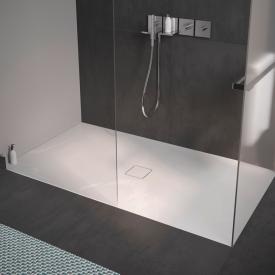 Kaldewei Conoflat square/rectangular shower tray white, with easy-clean finish