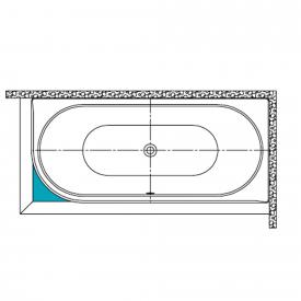 Kaldewei filling piece for rectangular bath Mod. 129/130, Centro Duo 1 le/ri