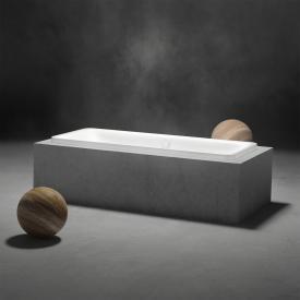 Kaldewei Incava rectangular bath white, with easy-clean finish