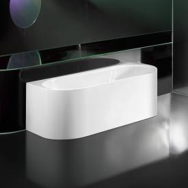 Kaldewei Meisterstück Centro Duo 2 back-to-wall bath with panelling without filling function